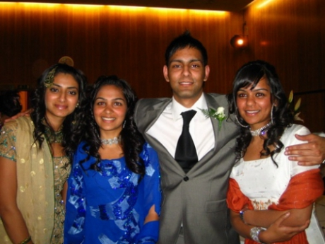 Bushra, Zainab, Me and Zahirra