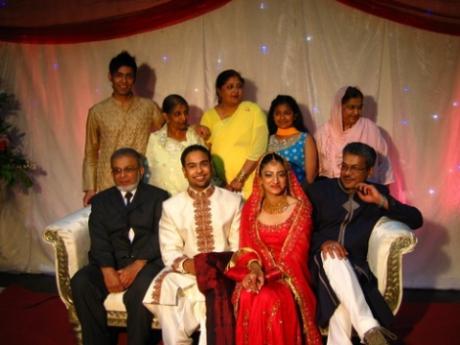 At Yasin & Bushra's wedding